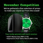 💻 Enter to win a NZXT Manta PC case and Raymond & Pearl Swiss watch ⌚ {??} (11/29/2018)