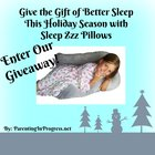 Sleep Zzz Pillow Giveaway (12/15/2018) {US}