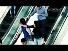 Touching Strangers Hand escalator Prank with Awesome Public Reactions | AG TECH |