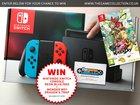 WIN - Nintendo Switch Neon Blue/Red Console + Wonder Boy: The Dragon's Trap {WW} (04/20/2018)