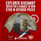 Explorer Giveaway! Win Outdoor gear including camping gear, tents, bags. 3 Winners {US} 3/2/20