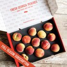 Win a Subscription of Farm to Porch Fresh Georgia Peaches shipped to you all summer [a $350 value] {US} (4/17/2019)