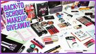 HUGE $1,000 Back-toSchool Makeup, Hair and Skin Products Giveaway! {??} (09/02/2017)