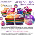 Fabric Panels and One Yard Cuts of Vibrant Nebula Quilting Fabric! $200 value, 3 winners!! (08/31/2017) {US}