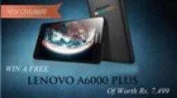 Win a Lenovo A6000 Plus Smartphone - World Wide (08/28/15)