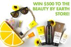 Enter to win $500 to the Beauty By Earth store! Ends 8/15 {??}
