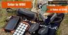 Win a speaker, audio neckband, ultra-fast charger, solar power bank, LED flashlight portable charger and more! {US} (07/05/2017)