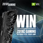 Win a ZOTAC GAMING GeForce RTX 2080 AMP Video Card {WW} (9/30/2018)