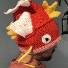 I hear you guys like Magikarp hats... My coworker knit me this