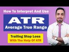 "A Guide To ""Average True Range"". Learn How To Set Trailing Stop Loss With The Help Of ATR."