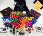 Win a Kickstarter Demi-God dice bundle - 18 complete sets of dice including metal dice, 2 cases, and a velvet bag worth over $300 (06/23/2017) {US}