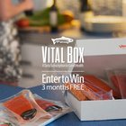 Win 1 of 3 Vital Choice Subscription Boxes including a 3-month Wild Salmon Box, 1-month Wild Seafood box or 1-month Wild Fish box {US} (05/31/2018)