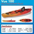 Win Evoke Vue 100 kayak! Fun! {US} (10/31/2018)