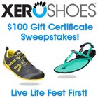 W!N a $100 Gift Certificate for a Pair of Xero Shoes (2/28){WW}