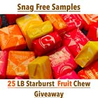 Enter to win 25 POUNDS (LOL) of Starburst Fruit Chews! {US} (10/31/2018)