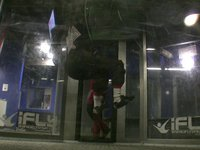 Sit-fly and learning flips in a wind tunnel.