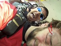 Skydiving this March