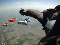 Wingsuit Flying - Exploring the Sky Over Chicago