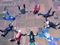 Skydiving video with Panasonic Lumix GH2, slightly color graded with Colorista II