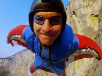 Jump4Heroes Wingsuit Proximity Flying from Mt Brento, Italy