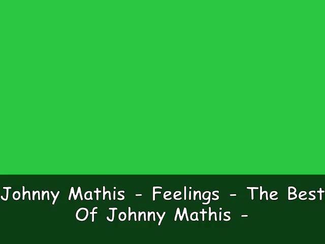 Johnny Mathis On Vimeo