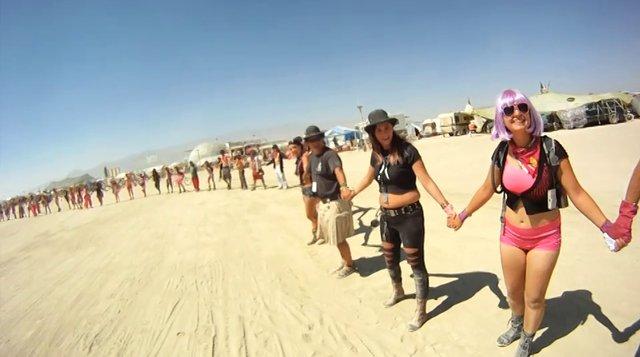 PINK RIDE Burning Man 2012 Rough Edit On Vimeo
