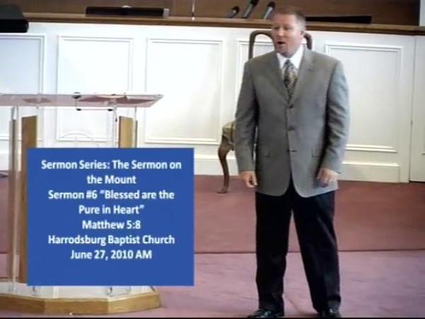 """06-27-10 """"Sermon on the Mount"""" Sermon Series, """"The 6th ..."""