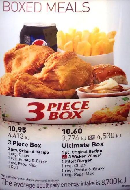 Kfc Delivery Menu Price List Philippines