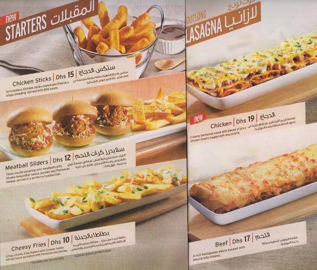 Lunch Menu Pizza Hut