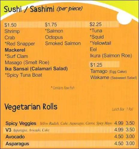 Sushi Restaurants Uptown Charlotte