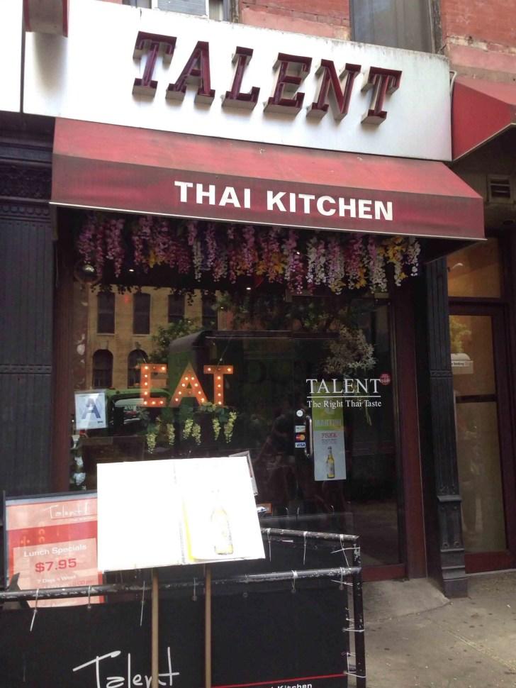 Talent Thai Kitchen New York City Urbanspoon Zomato
