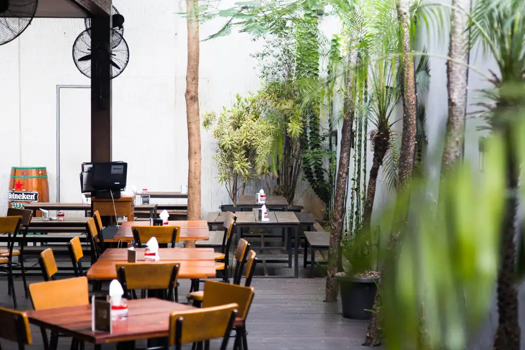 Not one to be left out of a trend, though, he opened a different kind of establishment earlier this year—a b. Beer Garden Menteng Jakarta