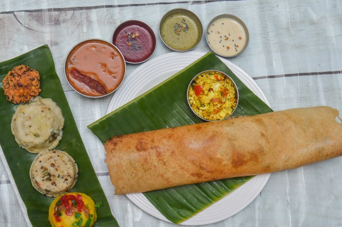Chidambaram's New Madras Hotel, South Indian Food