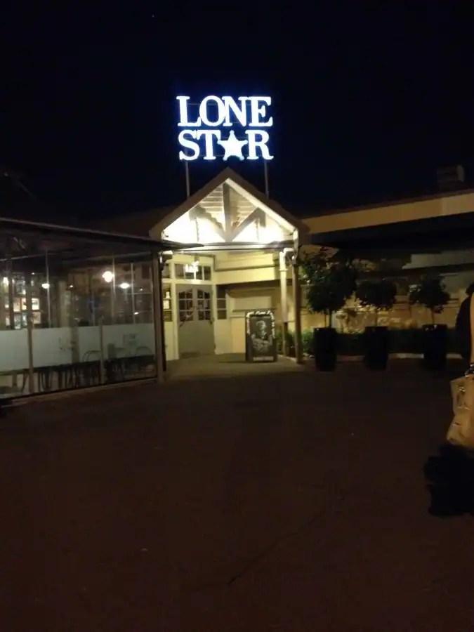 Lone Star Lunch Menu