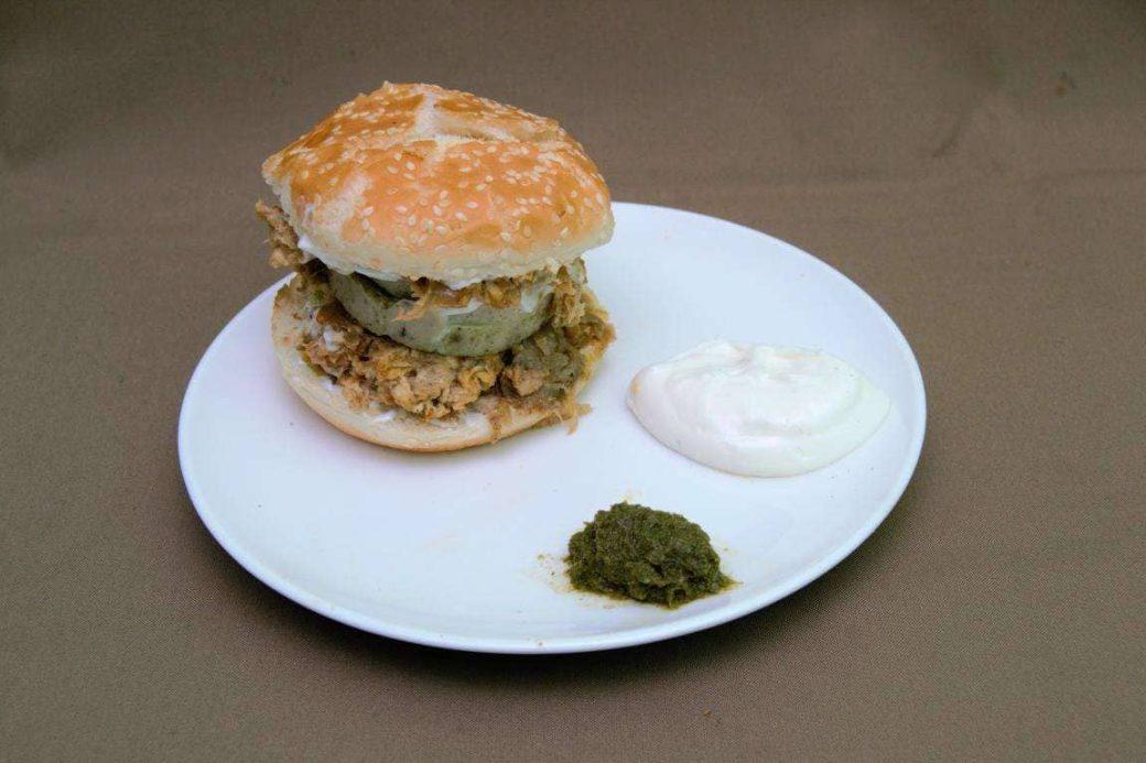 shawarma burger