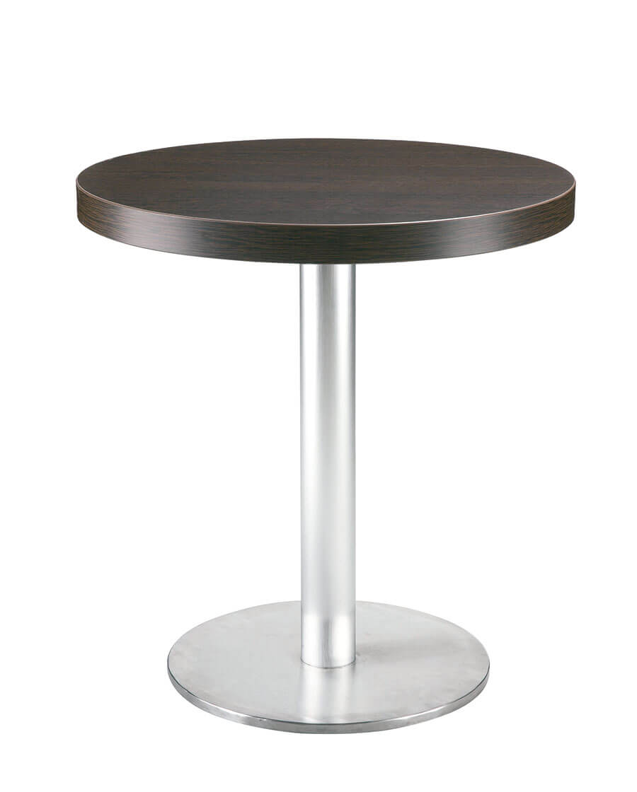 table ronde couleur wenge renoir de resol