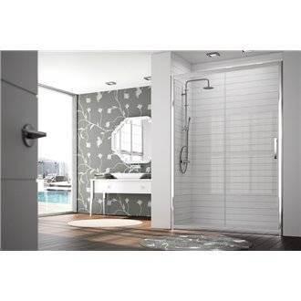 pare douche avec porte coulissante pour douche tr102 kassandra