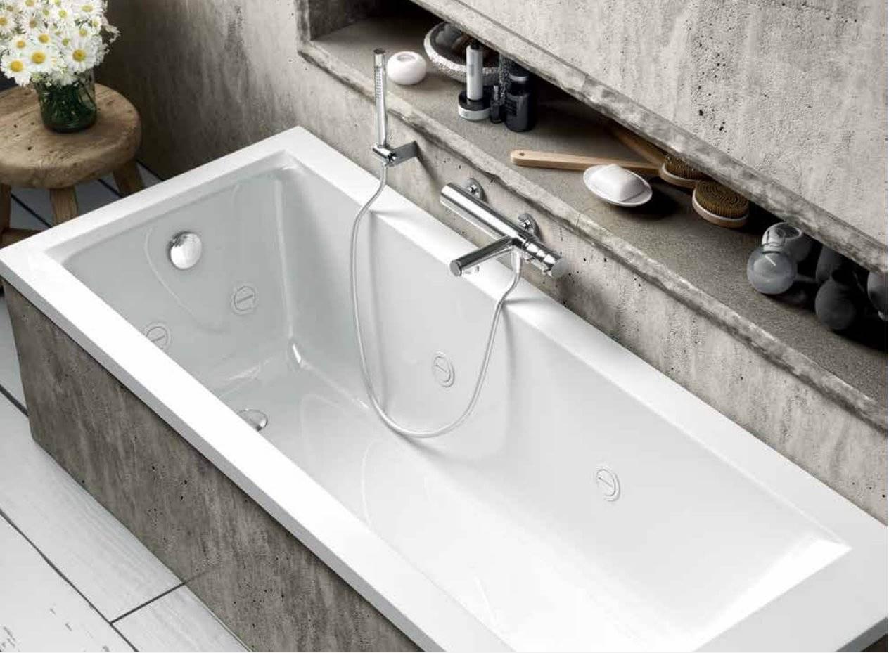 baignoire jazz s encastree 170 x 70 cm avec structure b10