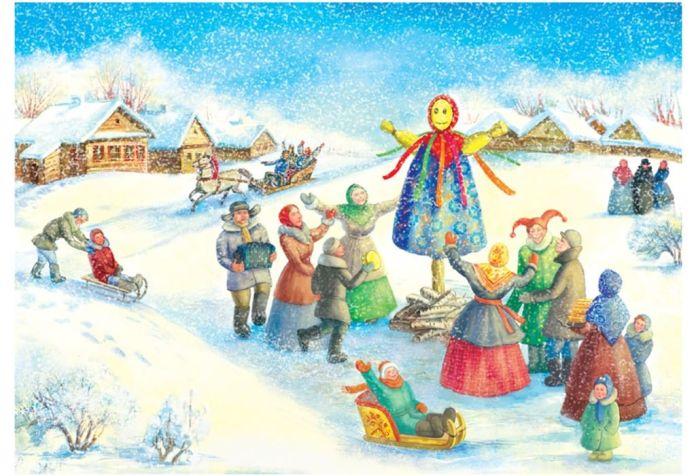 Картинки по запросу рисунок праздник масленица