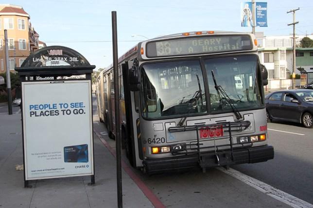 San Francisco 38 bus