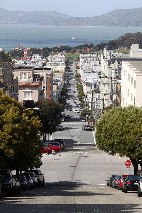 steep streets in San Francisco 7