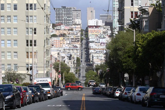 steep streets in San Francisco 3