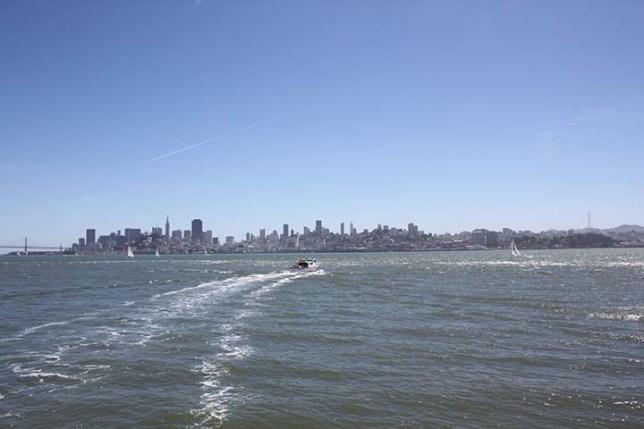 View from Alcatraz Island
