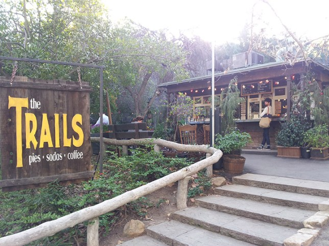 A Cafe in Griffith Park in Los Angeles