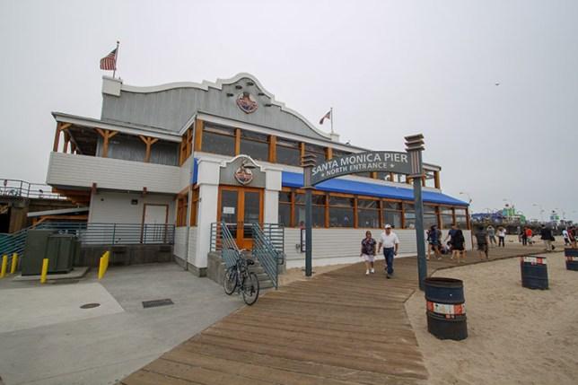サンタモニカピア (Santa Monica Pier)