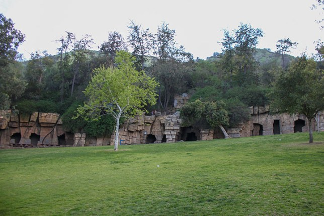 Old Los Angeles Zoo (OLD ZOO) in Griffith Park