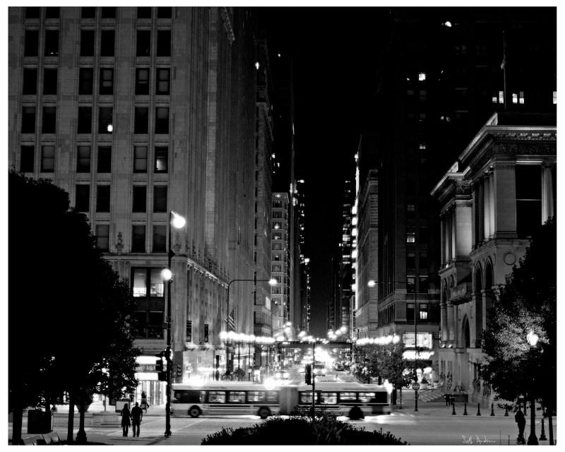 West Washington At Night