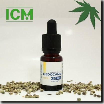 Medocann PLUS 10% CBD 10 ml (k)