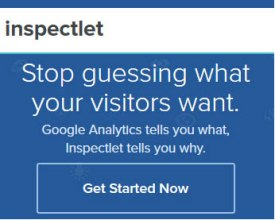 Visitor-oriented analytics with web session recording