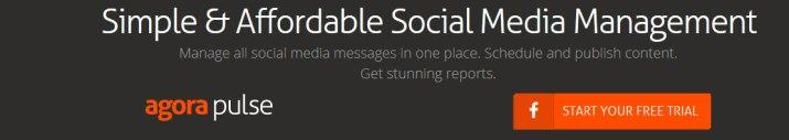 Manage your social media marketing - AgoraPulse
